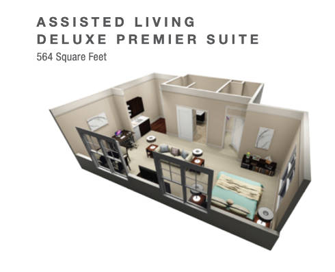ASSISTED LIVING DELUXE PREMIER SUITE